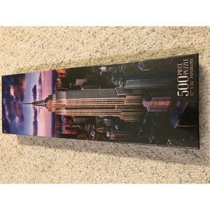 New York City Empire State Building 500 pc Puzzle